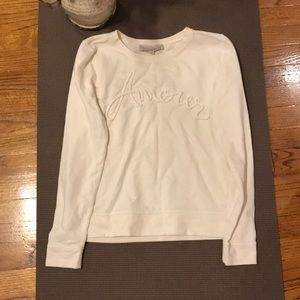 Loft cream Amour sweatshirt